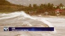 """""""On a mis le scotch sur les vitres"""". Une habitante de Saint-Martin raconte les prémices de l'ouragan Irma"""