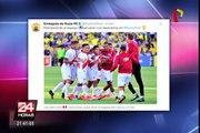 PPK y otros políticos saludaron por redes sociales victoria de Perú