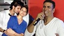Akshay Kumar FUNNY Comment On Hrithik Roshan And Kangana Ranaut Controversy