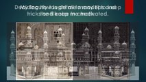 3D Animation institute - Creation of Charminar in 3D - A student work of Arena Animation Dilsukhnagar