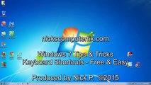 Windows 7 Tips & Tricks - Windows 7 Keyboard Shortcuts