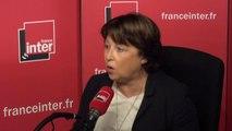 """Martine Aubry : """"Quand on dit qu'on est ni de droite ni de gauche, on est ni de gauche ni de gauche, on le sait depuis toujours."""""""