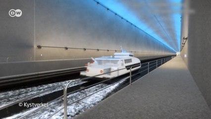 Noruega constrói túnel gigantesco para navios