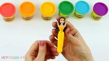 Jouer de plasticine jouer jusquà costumes poupée princesse Disney sirène Sirènes lepim doh son