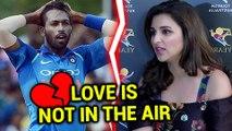 Parineeti Chopra CONFIRMS Not Dating Hardik Pandya | Statement Inside