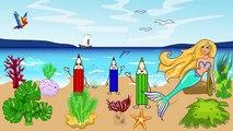 Enfants pour dessins animés dessins animés sirène traite les enfants Seahorse intéressants