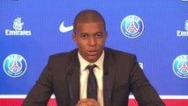Foot - Transferts - PSG : Mbappé «Un grand plaisir de rejoindre le Paris-Saint-Germain»