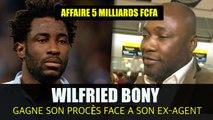 Wilfried Bony gagne son procès face à son ex agent Francis Kacou