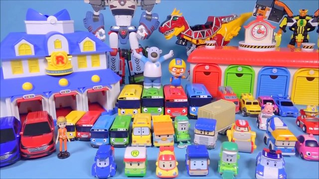 Robocar Poli, Tayo the little bus mini car toys 타요 폴리 장난감