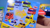 Tayo the little bus 타요 꼬마버스 타요 중앙차고지 주유소 Игрушки Автобус Тайо by ToyPudding