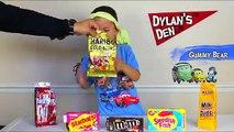 CANDY CHALLENGE, Lollipop, M&Ms, Skittles, Milk Duds, on Dylans Den, FUN (#26)