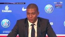 PSG : Kylian Mbappé évoque les 180 millions d'euros de son transfert (Vidéo)