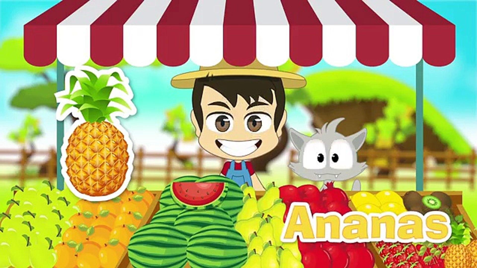 Для Французский в в в в Дети Дети ... Узнайте имен овощи с Закария