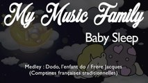 "My Music Family - Comptines ""Dodo, l'enfant do / Frère Jacques"" - 8 hours of Baby Sleep Music"