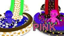 Bébé Bonbons enfants les couleurs couleurs pour enfants Apprendre partie les tout-petits avec 3d GUMBALL 2