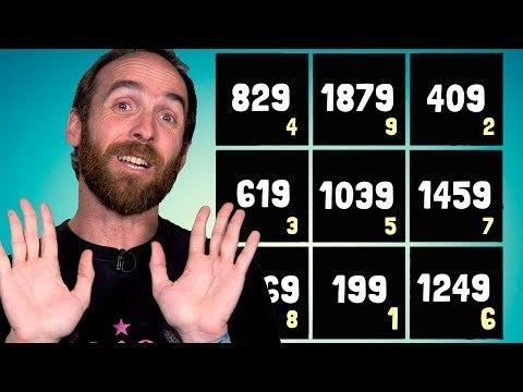 ¡Increíble! ¡Un cuadrado mágico con números primos!