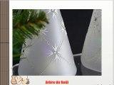Idée arbres de Noël Arbre de Noël avec lumières luminarie Noël éclairage de noël décorations