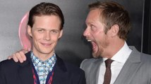 Watch Alexander Skarsgard Try to Make Brother Bill Jump at 'It' Premiere