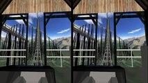 Des lunettes limites nécessaire ne dans aucun simulateur ultime 3d montagnes russes 3 3d