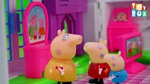Peppa pig: Grampy Rabbits Dinosaur Park | compilation 45 min | Episodes in english HD