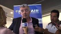 O'Leary: per Alitalia presenteremo offerta vincolante