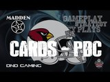 MADDEN 25 ONLINE GAME PLAY - ARIZONA CARDINALS PLAYBOOK CHALLENGE - PLAYING A BITCH