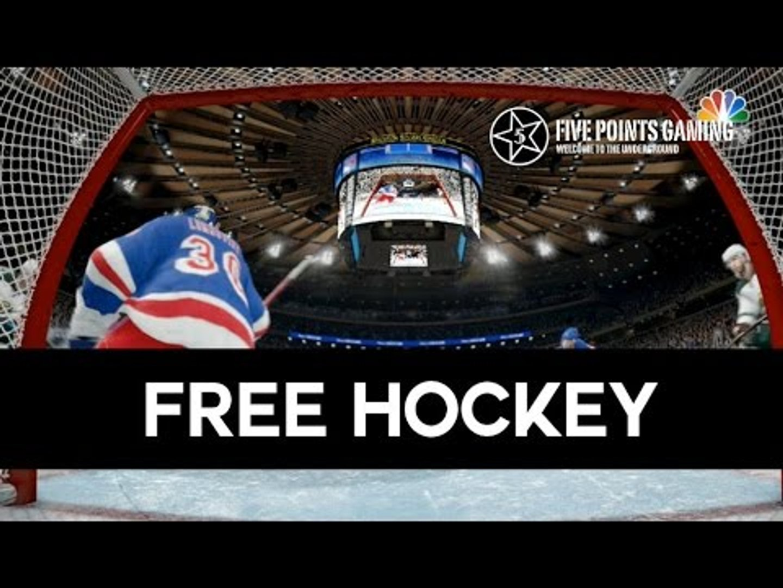 NHL 16 - First Overtime Ranked Game - 3 v 3 and 4 v 3 and 5 v 3 etc...