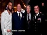 Clint Eastwood en gare d'Arras - Reportage dans le JT de France 2