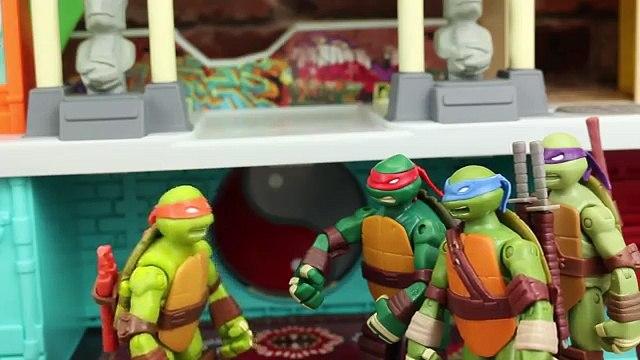 Teenage Mutant Ninja Turtles Large Shellraiser Vs Small Shellraiser Comparison Toy Review