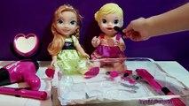 Un et un à un un à Coupe gelé cheveux la Coupe de cheveux coiffeur a hors les ciseaux les tout-petits jouets contre Elsa barbie anna