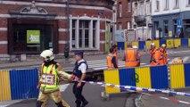 Saint-Josse : Une partie de la chaussée de Louvain s'est effondrée (2)