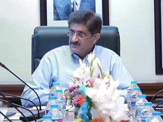 Sindh CM presides meeting to review progress of schemes Karachi Package