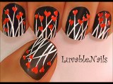 Valentines Day Heart Nail Art Tutorial - Valentines Day Nails for Valentines Day Nail Art Valentines Day nail designs 4