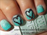 Valentines Day Heart Nail Art Tutorial - Valentines Day Nails for Valentines Day Nail Art Valentines Day nail designs(4)