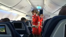 Aeroflot Told It Cannot Dictate Stewardesses' Clothing Size