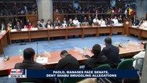 Paolo, Manases face Senate, deny shabu smuggling allegations