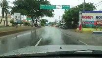Irma: l'ouragan en République dominicaine à Saint-Domingue