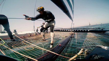 Get Onboard with the Extreme Sailing Series