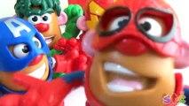 Fr dans tête héros merveille m pomme de terre m. jouets de pommes de terre de la tête Playskool pommes de terre espagnole