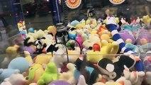 De avec la machine jeu Challenge jouets qui obtiendrait une machine à sous jouet en peluche