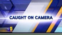 Man Caught on Camera Running Through Middle School in His Underwear