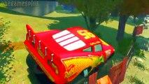 Des voitures confiture foudre monstre hors partie route piste piste disney McQueen 2 Janvier