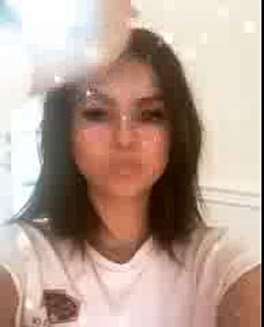 Selena Gomez Instagram. Hair and makeup