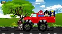 Homme chauve-souris enfants des œufs pour enfant monstre Nouveau homme araignée super-héros camions carcajou surprise