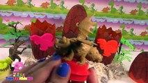 Huevos de Dinosaurios - Videos de Dinosaurios para niños- Juguetes de Dinosaurios ToysForK
