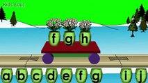 Alfabeto por orden alfabético ceremonias para orden niños en edad preescolar tren