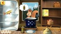 En términos Angela 231 de dibujos animados sobre un mobilnyeigry león juego de dibujos animados