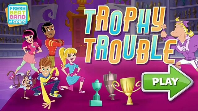 Fresh Beat Band of Spies Trophy Trouble