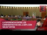 INE ratifica triunfo de Alfredo del Mazo en Estado de México