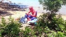 Bain épisode drôle dans vie Nouveau de de réal homme araignée super-héros temps équipe vengeurs